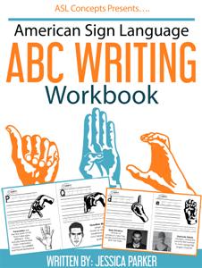 ASL ABC Writing E-book