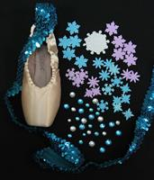 Single Decorative Pointe Shoe Kit (Frozen)