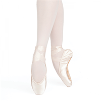 Russian Pointe Entrada Pro U-Cut Pointe Shoes With Drawstring