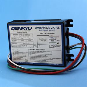 35/39W Electronic digital HID ballast DENKYU 90504 for CMH MH lamps, SIDE LEADS