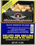 BBQ PELLETS - BLUE RIBBON (15 LBS OF IMPECCABLE BLEND OF PURE FLAVOR)