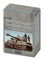 Damaged WWII Tank Leader Commander Cards Expansion