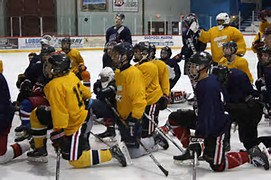 Spring Hockey Practice for Peewees - Bantams