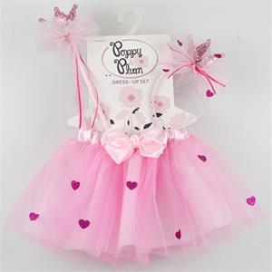 C28528 - Hearts and Crown Tutu Set
