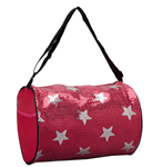 CBG28286 - Duffel Bag with Sequined Stars