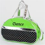 CBG28400D - Half Moon Bag Sequined with Silver Metallic