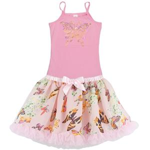 PS1019 - Two Piece Tank Top Tutu Set