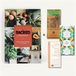 Cookbook & Bar gift set