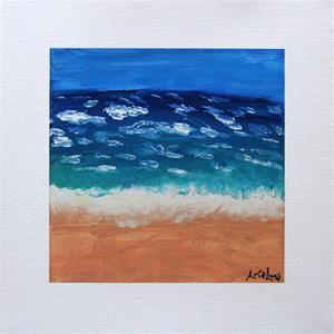 """Vast Beach"" fine art canvas print"