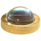 64mm (2.5 inch) Magnabrite w/ Round Oak Base & Pouch