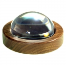 64mm (2.5 inch) Magnabrite w/ Round Walnut Base & Pouch