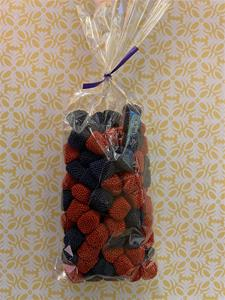 Bag of Blueberries and Strawberries