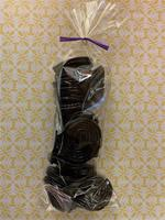 Bag of Black Licorice Wheels