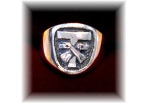 WOMENS FRANCISCAN TAU ~ SFO, LAY AND RELIGIOUS RING