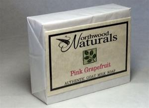 Goat Milk Soap Pink Grapefruit