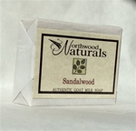 Goat Milk Soap Sandalwood