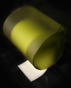 Lime Zest Toilet Paper Cover