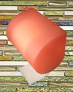 9. Blush Pink Toilet Paper Cover