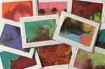 Hand Painted Note Cards - Assorted Set (Qty 5)
