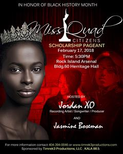 Miss Quad Citizens Pageant
