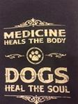 Dogs Heal the Soul Crewneck