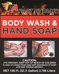BODY WASH & HAND SOAP 2x1 GAL