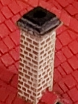 C4-HO Chimney - Brick with Cap