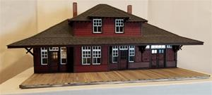 CPR #5 Station Kit (O-scale) - Hip Dormers