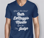You Be the Judge Lady's V-Neck T-Shirt