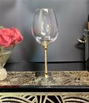 Wine Glass - Golden Age 24K Gold All Purpose Wine Goblet (Pair)
