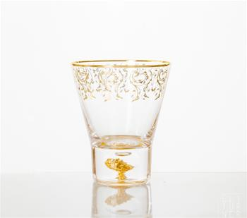 06.Golden Age Whiskey Glass (pair)