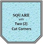 09 - Square w/ 2 Cut Corners