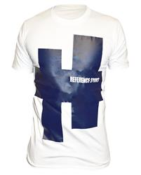 Reference Sport Blue Achtag Logo White T-Shirt