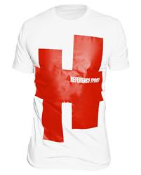 Reference Sport Red Achtag White T-Shirt