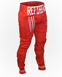 Red Reference Sport Cotton Sweatpants w/ Design Pocket