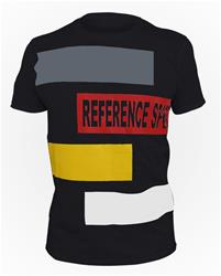 Black Reference Sport Box Logo Cotton T-Shirt.
