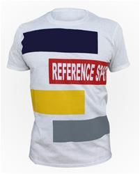 Reference Sport Box Logo White Cotton T-Shirt
