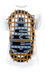 Rickey Dillian Line Print T-Shirt