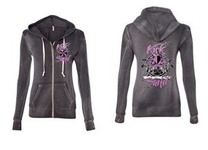 Women's Zip-Up Hoodie KS#74