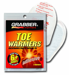 Grabber Toe Warmers (10 Pair Pack)