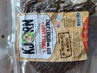 Brisket Jerky Sweet and Spicy 3.5oz Bag