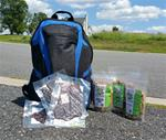 Blue Bookbag Gift Package