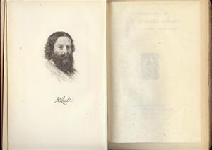 A Bibliography of James Russell Lowell Compiled by George Willis Cooke; 1907 Limited Edition #484 out of 550