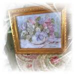 Gorgeous Lilac Print By Gail McCormack (SOLD)