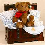 The Toy Chest Baby Boy Gift Basket