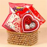 Be My Valentine Gift Basket