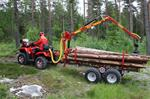 Log Loader/Trailer for ATV