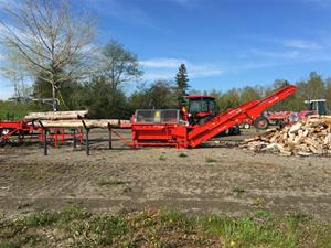 Commercial series Hakki Firewood Processors Model 33 and 35