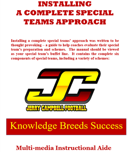 INSTALLING A COMPLETE SPECIAL TEAMS APPROACH
