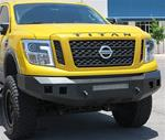 Fortis Front Bumper 2016 - 2020 Nissan Titan XD
